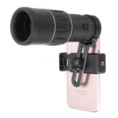 16x52 Optics Lens Camping Hiking Telescope Outdoor