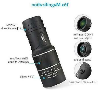 16x52 Hunting Zoom