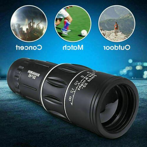 16X52 HD Monocular Camping Optical