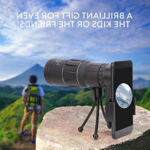16X52 HD Monocular Travel Hiking