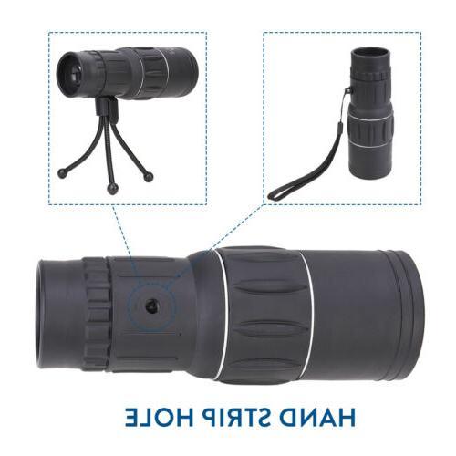 16X52 Monocular Telescope+Clip for Travel