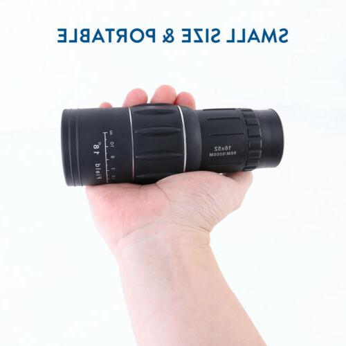 16X52 Zoom Monocular for Travel Hunting Hiking