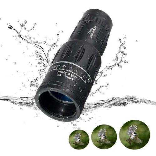 16X52 Optical Monocular for Travel Hunting Hiking
