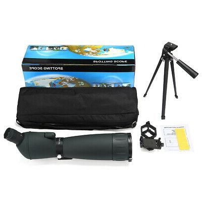 25-75X75 Waterproof Scope Zoom Tripod&