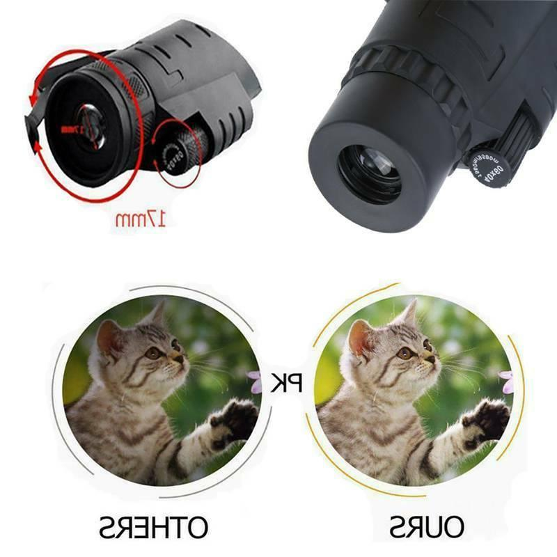 40X60 Zoom HD Monocular Hunting