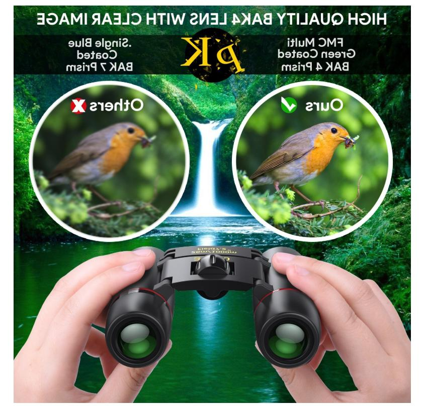 30x60 Small Compact for Bird Watching Outdoor Hunting