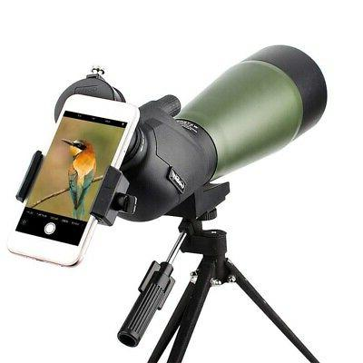 3X(15-45X50 Monocular High Power Telescope Mobile Low Light