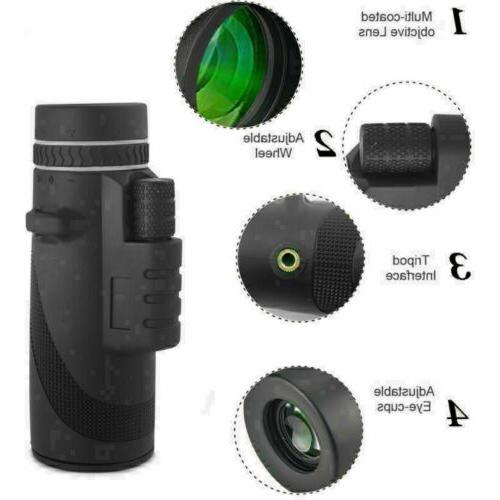 40 x Optical HD Lens Telescope Phone