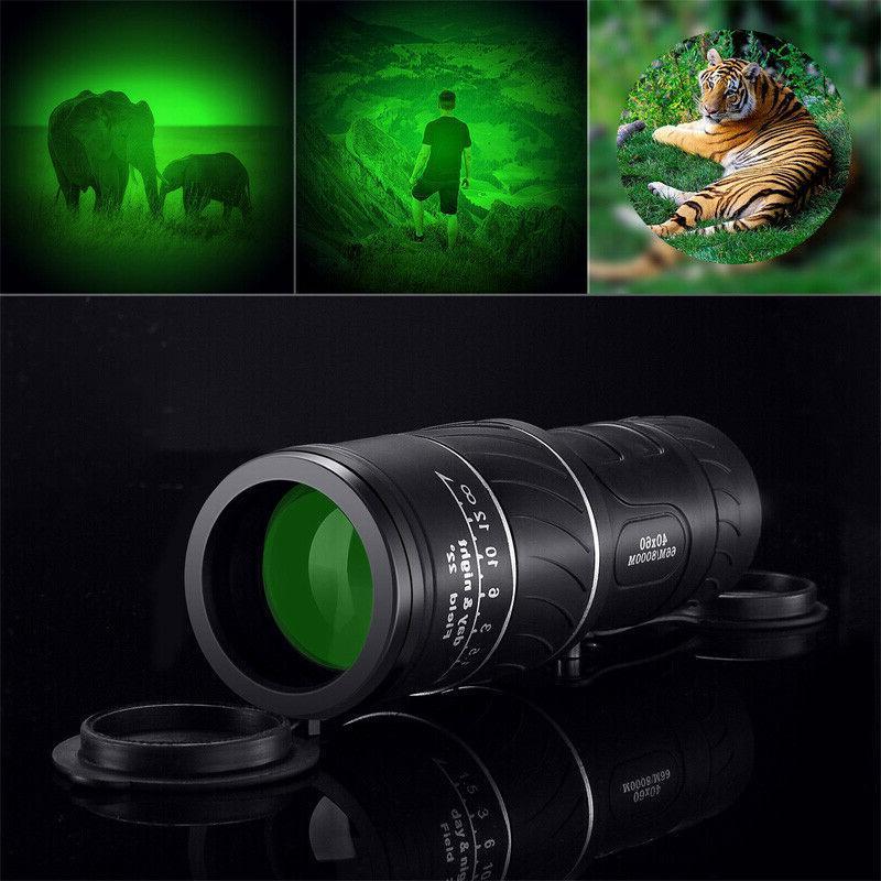 40x focus spotting scope portable pocket size