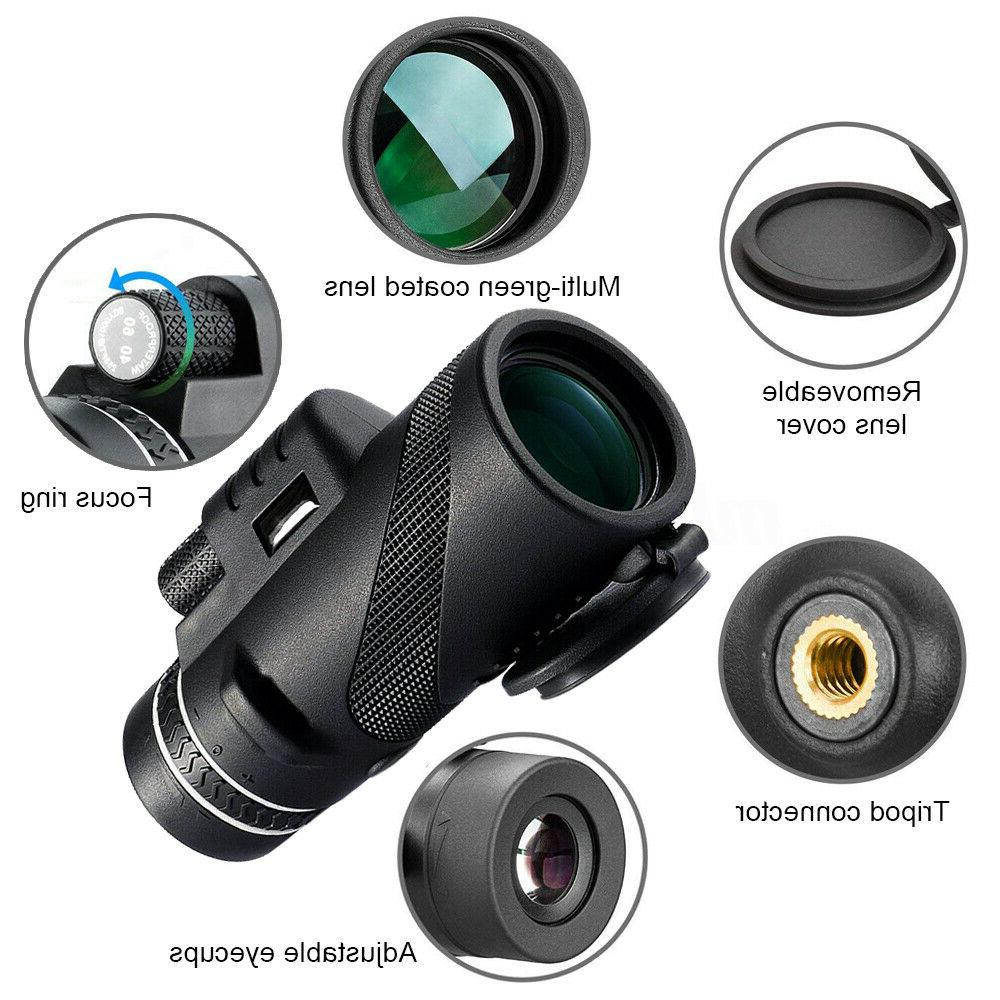 40X60 Day Vision Optical Monocular Telescope
