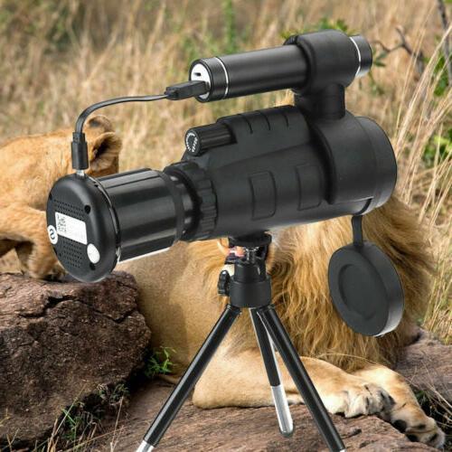 40x60 IR Night Vision Video Camera Monocular