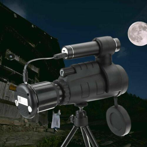 40x60 HD Optical IR Camera Monocular Telescope
