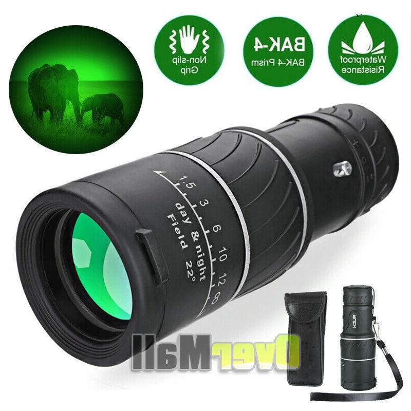 Pro BAK4 Telescope with Night Vision 40X60 Monocular Starsco