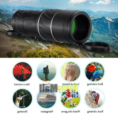 40x60 High HD Monocular Waterproof night