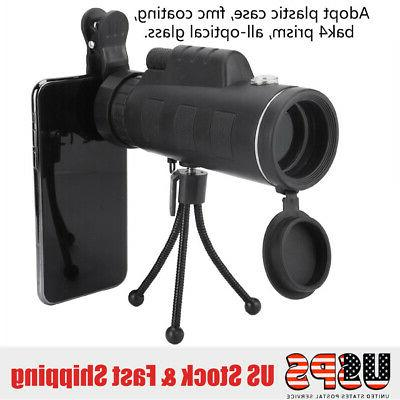 40X60 with Compass Monocular Scope