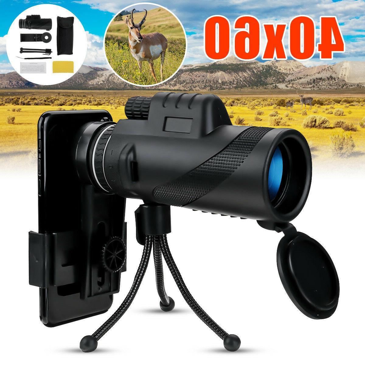 40x60 zoom hd telescope optical lens phone