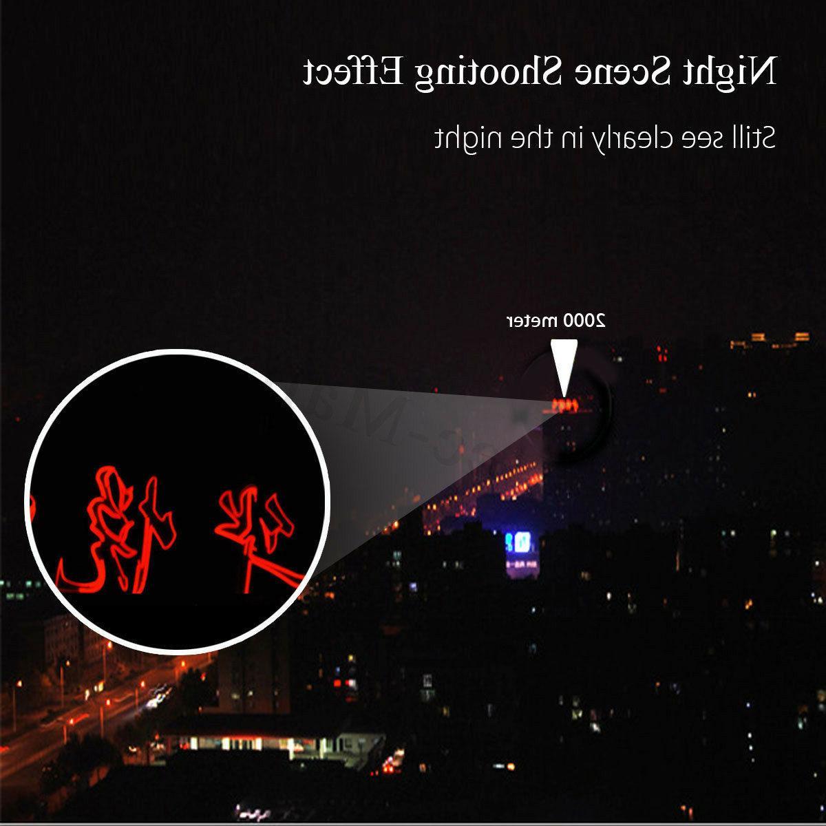 40X60 Monocular Telescope HD Optical Lens Tripod Clip Mobile