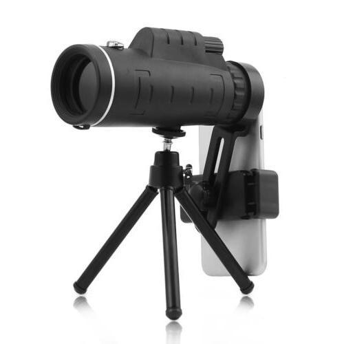 40x60 zoom phone camera lens monocular telescope