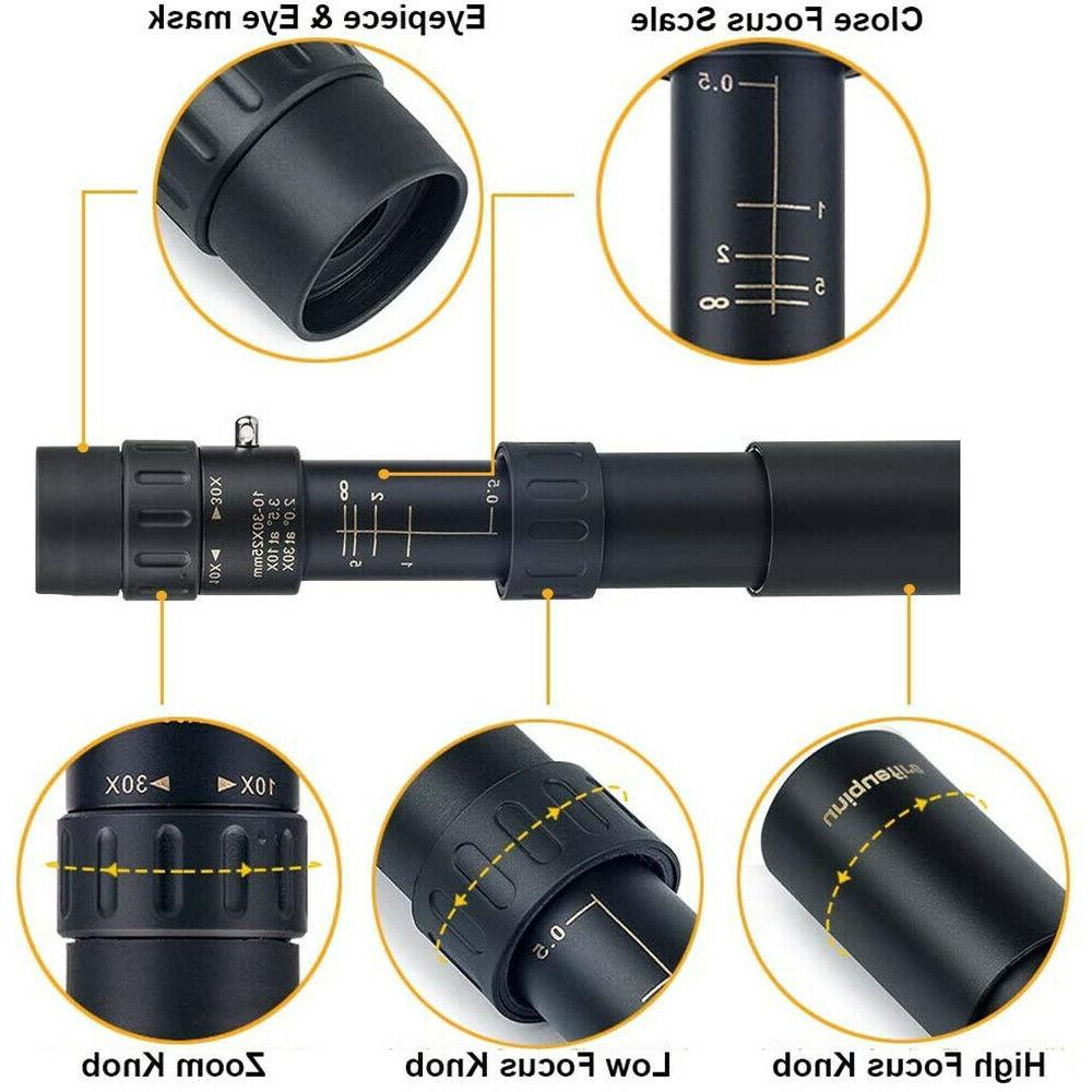 4k 10-300x40mm Super Telescope with Tripod and