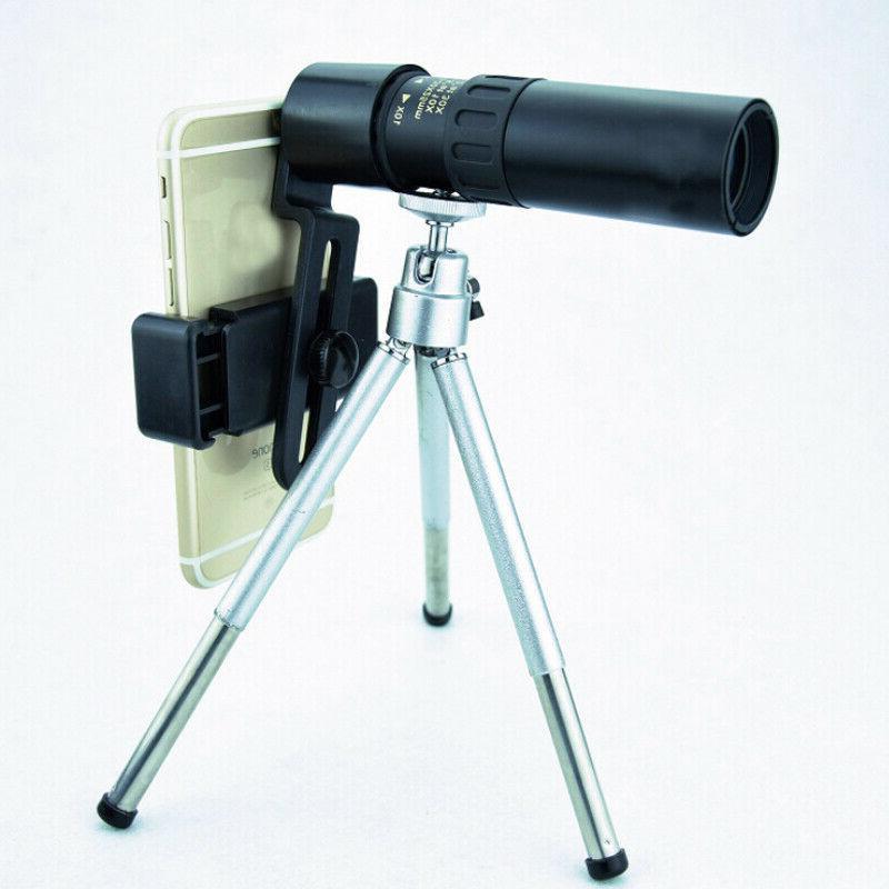 4k 10-300x40mm Super Telephoto with Tripod