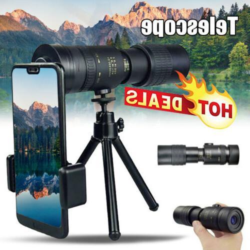 4k 10 300x40mm super telephoto zoom monocular