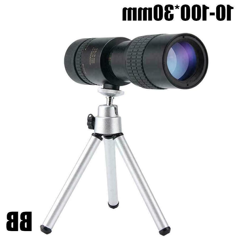 4k Zoom Portable Monocular Telescope Optical
