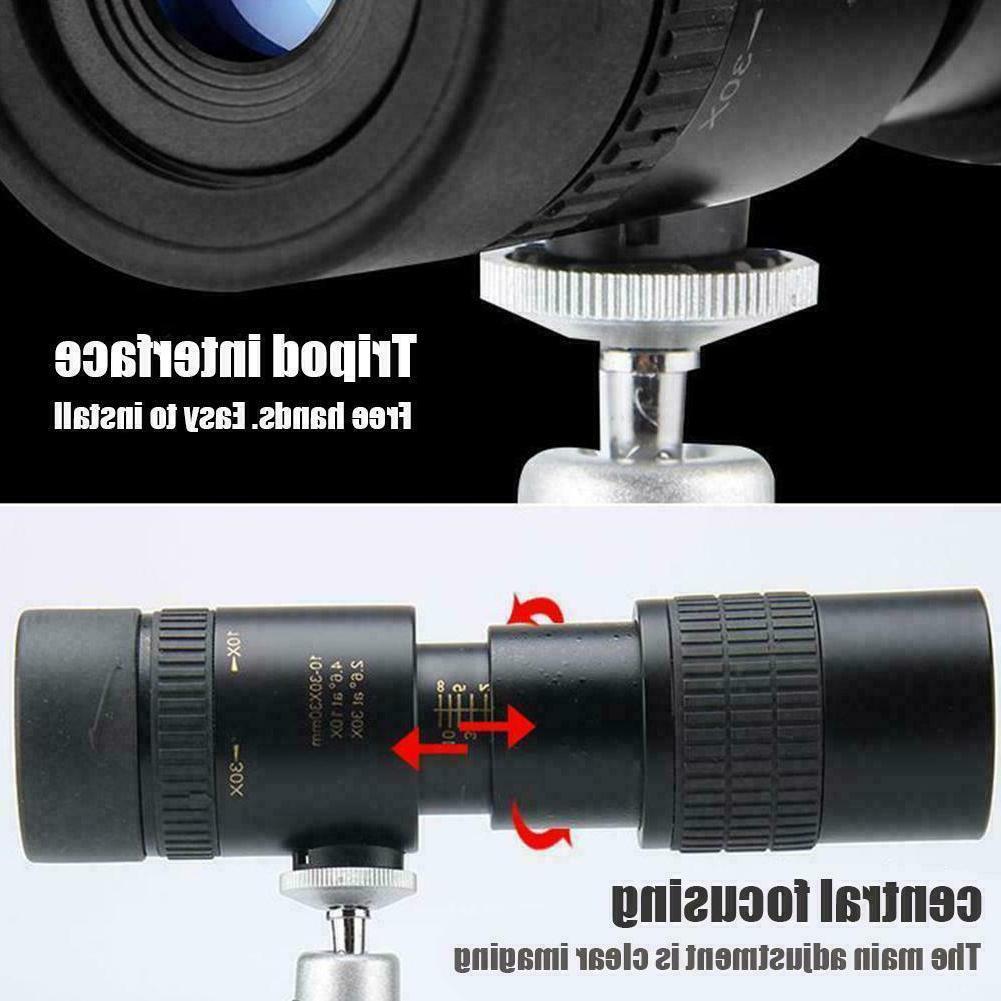 4k 10-300x40mm Zoom Telescope Optical