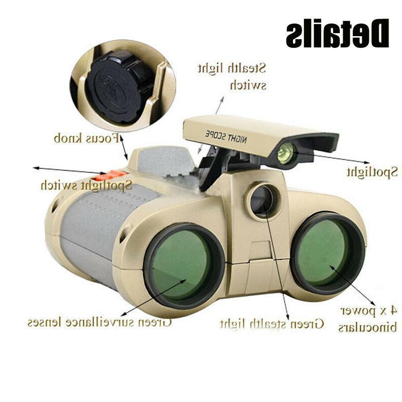 4x Surveillance Binoculars Telescopes W/