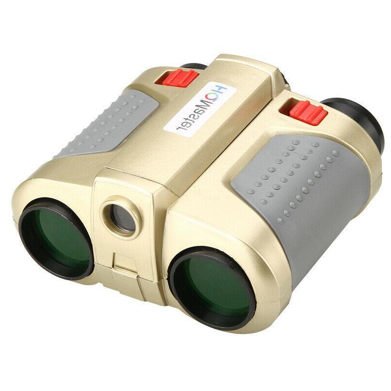 4x Vision Surveillance Binoculars Telescopes W/ Light US