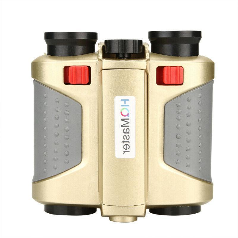 4x Night Surveillance Binoculars Telescopes W/ Light