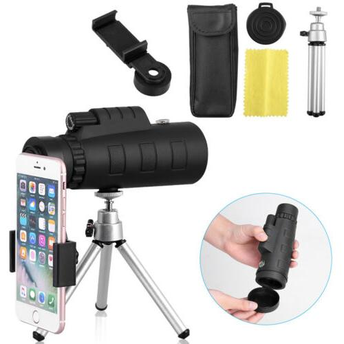 50x60 Telescope w. for Smartphone