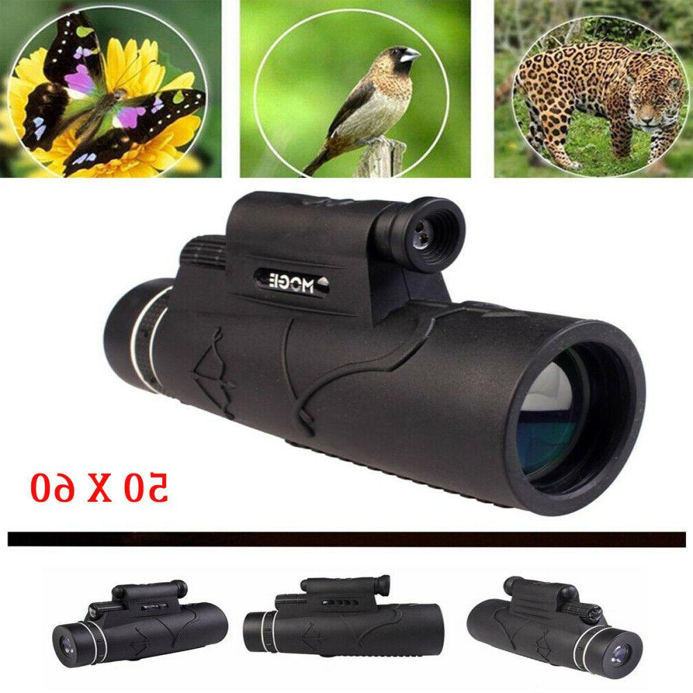 50x60 magnification zoom optical phone prism monocular