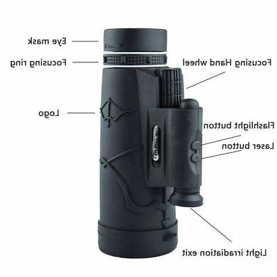 50x60 Portable Monocular Zoom Telescope