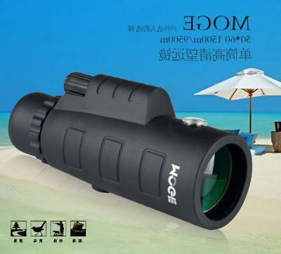 50x60 HD Monocular Telescope Zoom