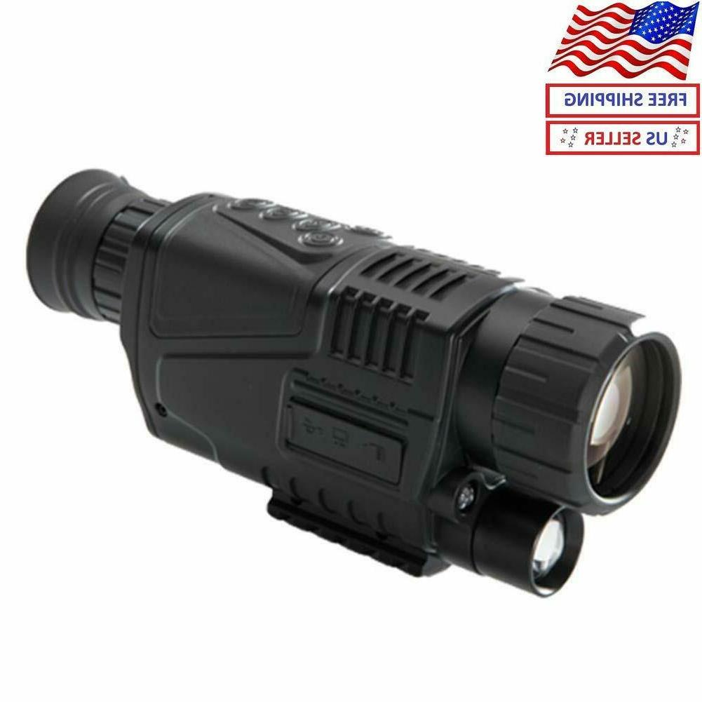 5x40 infrared ir digital night vision hunting