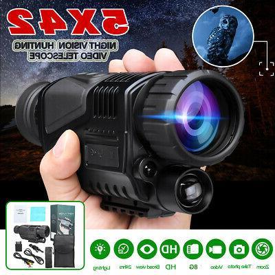 5x40 infrared ir night vision hunting monocular