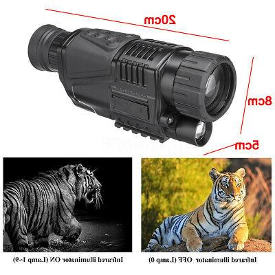 5X42 Infrared Camera Video Monocular Outdoor