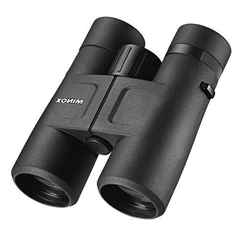 MINOX BV Binocular 10x w/ - Lens System – Body, Turnable Eyecups and Tripod