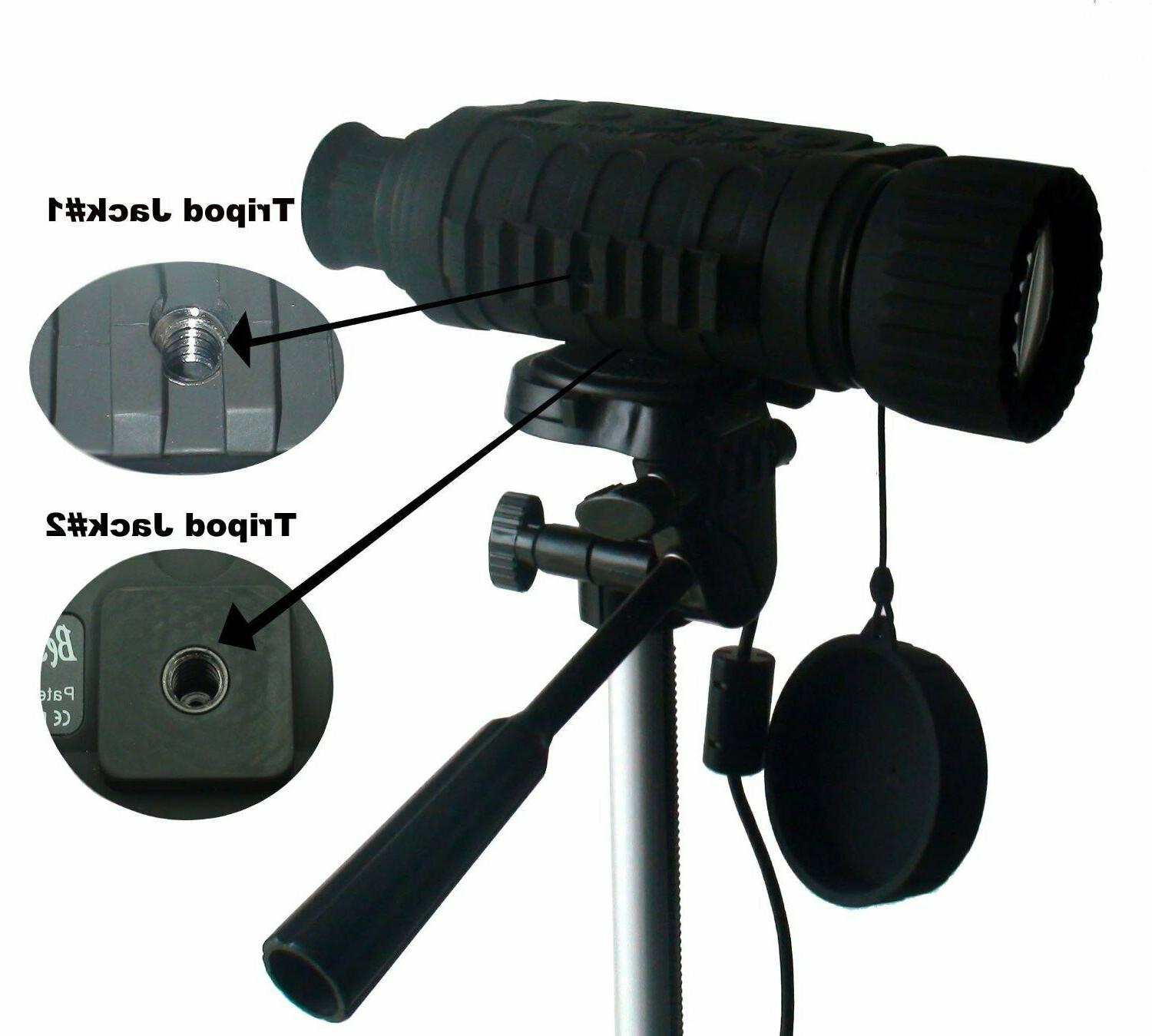 6x50mm Digital Vision Monocular inch Camera