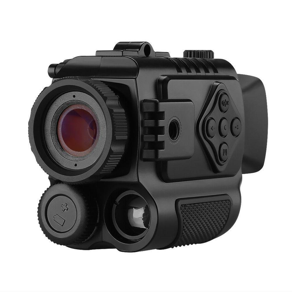 8GB 5X Digital Infrared Night Vision Monocular 850NM Take Ph