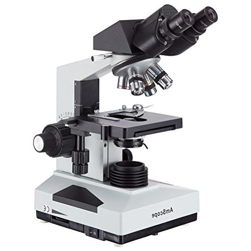 b490b compound binocular microscope