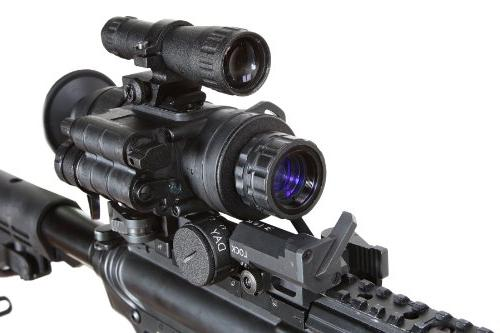 Armasight 2+ QS Quick Silver White Phosphor Night Vision Monocular with Manual Gain,