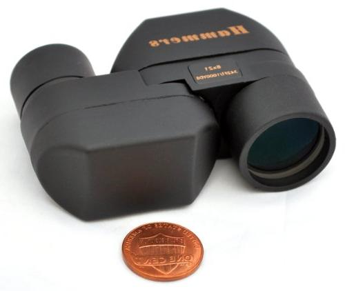Hammers Mini Pocket Size Monocular Spotting Scope 8x21 Spy G