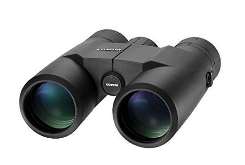 MINOX 8x42 Waterproof Compact Anti-fog Binoculars Filling, Eyecups Tripod Socket