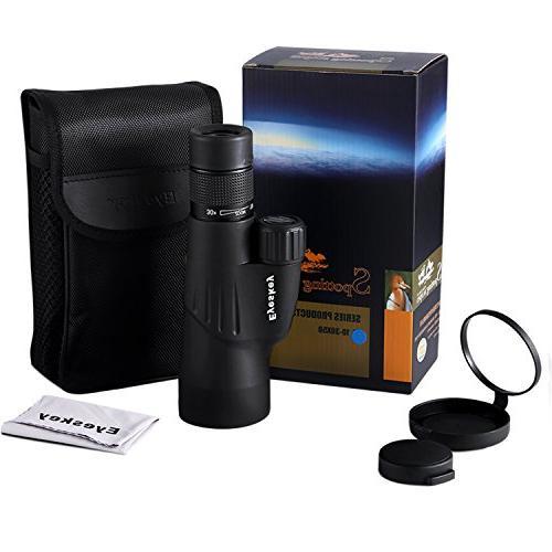 Monoculars, 10-30x50 Zoom Monocular-Waterproof Telescope, Wildlife