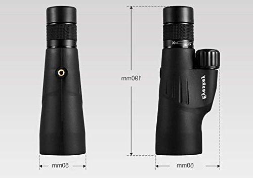 Monoculars, 10-30x50 High Zoom Monocular-Waterproof Telescope, FMC for Wildlife