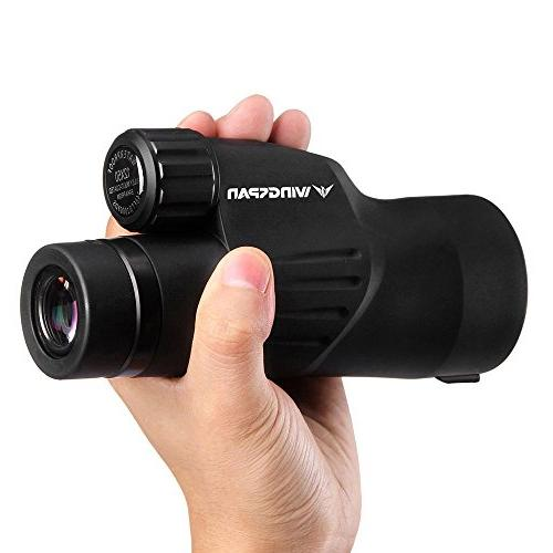 Wingspan Optics Titan High Scope. Optimal Brightness Durable. Waterproof. Fog Proof. Designed Nature Hunting