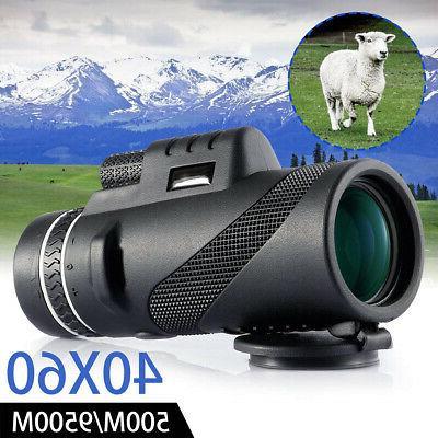 archeer 40x60 monocular telescope dual focus optics