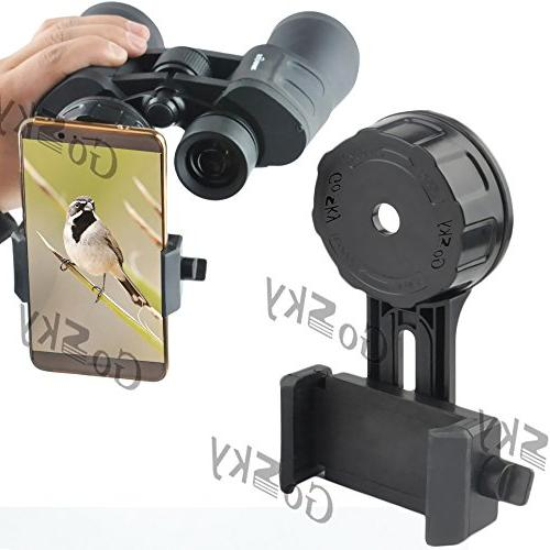 binocular spotting scope smartphone adapter