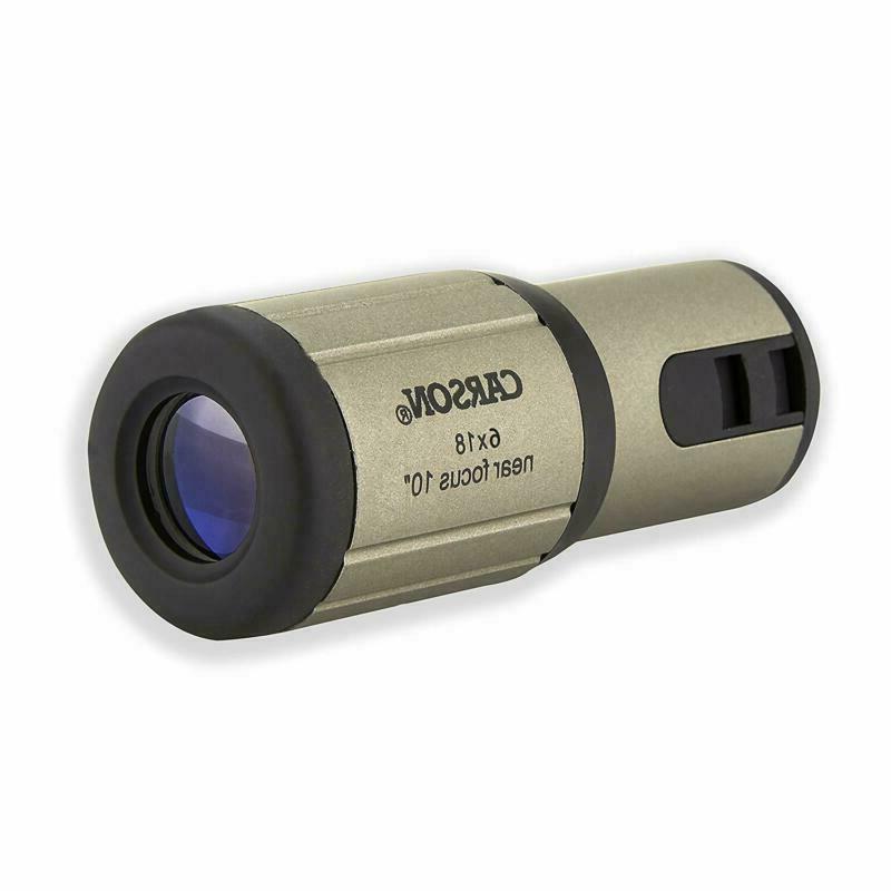 Carson Closeup 6X18Mm Close-Focus Monocular